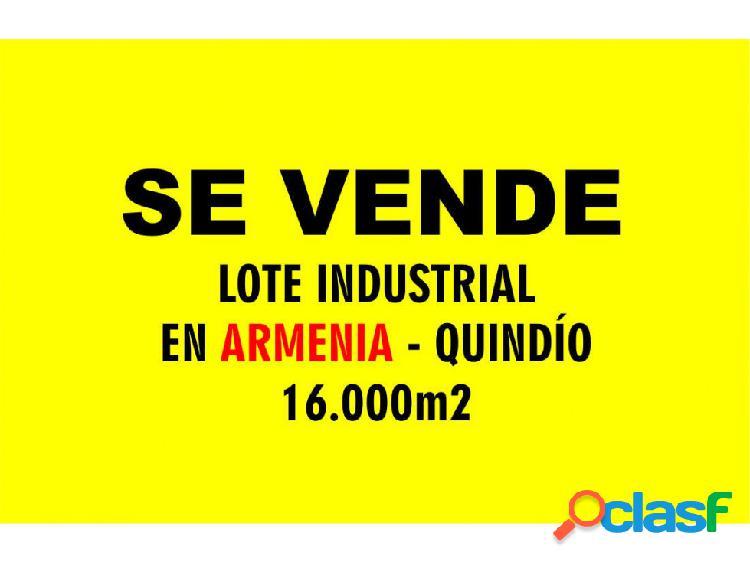 Lote industrial armenia 16000 ane