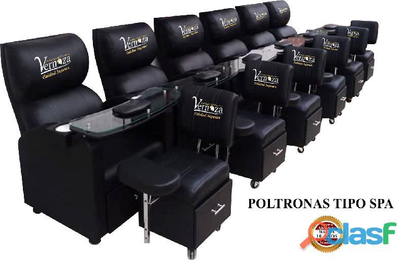 140 DESLUMBRANTE RECEPCION, POLTRONA TIPO SPA, SILLA DE BARBERIA. 2