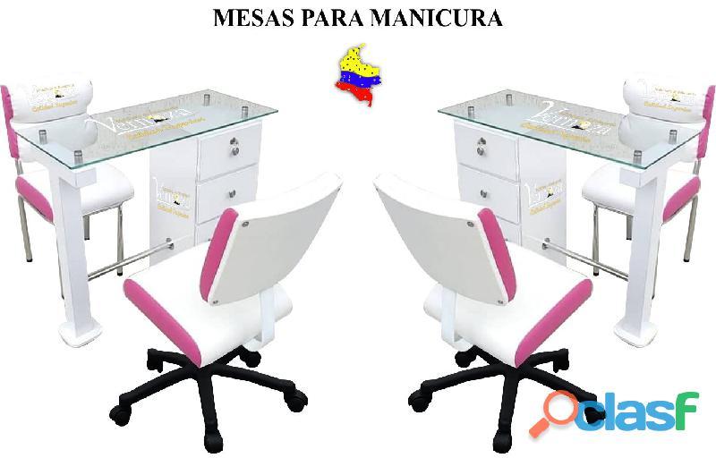 142 ASOMBROSO MONTAJE PARA PELUQUERIA, LAVACABEZAS, SILLA DE PELUQUERIA, MESA MANICURA 4