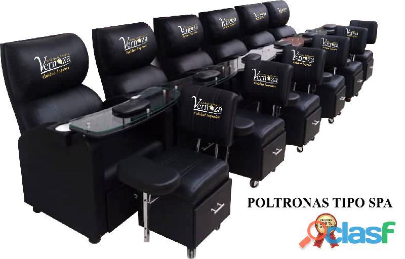 146 POLTRONA TIPO SA, TOCADORES CAMERINO, SILLA PARA CORTE DE PELUQUERIA, VITRINA