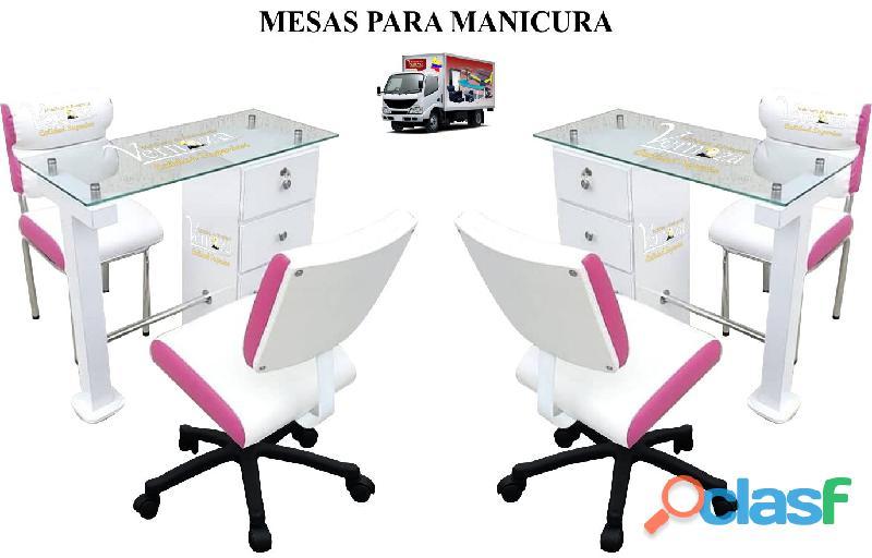 148 VIGOROSOS MOBILIARIO PARA BARBERIA, SILLA DE CORTE, MESA DE MANICURA, LAVACABEZAS. 2