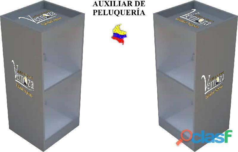 148 VIGOROSOS MOBILIARIO PARA BARBERIA, SILLA DE CORTE, MESA DE MANICURA, LAVACABEZAS. 5