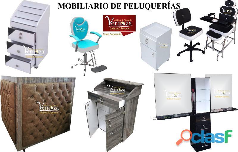151 adecuados muebles para peluqueria, lavacabezas, silla de peluqueria, mesa manicura.