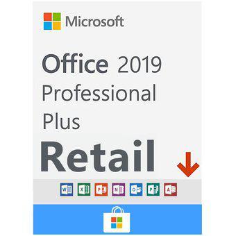 Office 2019 professional plus 1 pc retail vitalicio