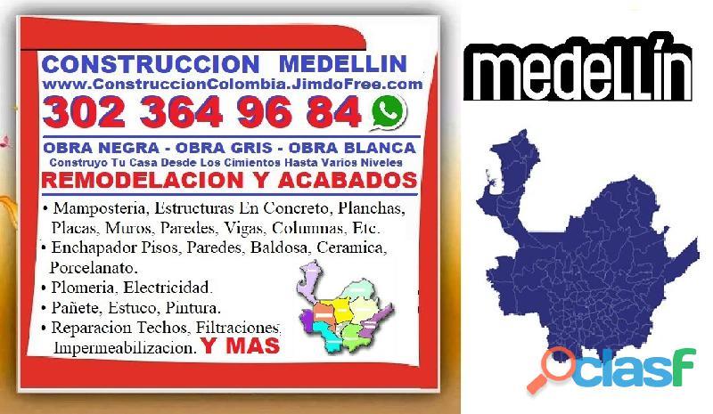 ⭐ MAESTRO DE OBRA Medellin, Oficial Construccion, Albañil, Enchape Pisos, Pintor, Plomero, Electrici