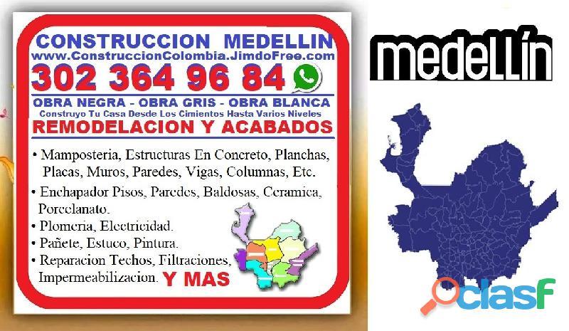 ⭐ MAESTRO DE OBRA Medellin, Oficial Construccion, Albañil, Enchape Pisos, Pintor, Plomero, Electrici 1