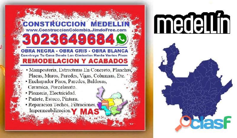 ⭐ MAESTRO DE OBRA Medellin, Oficial Construccion, Albañil, Enchape Pisos, Pintor, Plomero, Electrici 2