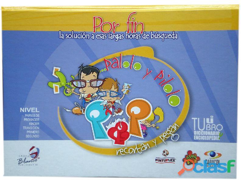 Libro de recortes niños palolo y pilolo®