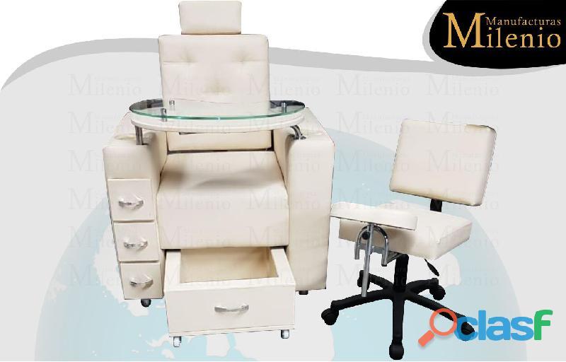 233 selectos poltrona tipo spa, recepcion, silla para barberia.