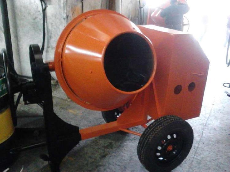 Mezcladora de cemento capacidad dos bultos