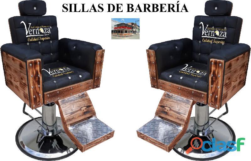 248 glamoroso silla de barberia, poltrona pedicure, recepcion.