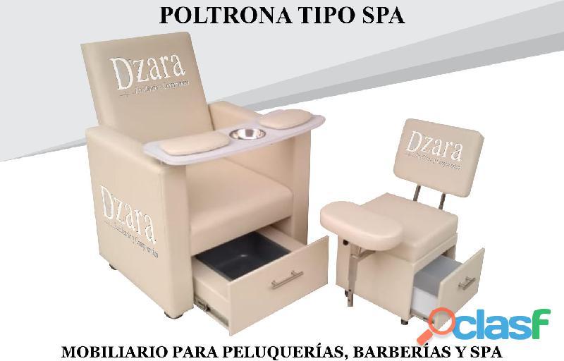311 increíble poltrona pedicure, recepcion, silla para barberia.