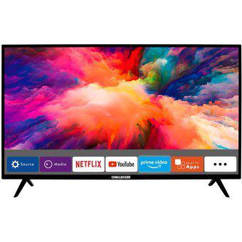 Televisor challenger 43 pulgadas fhd smart tv netflixtv