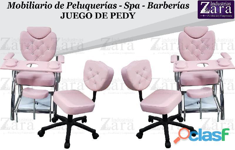108 hermosa silla de manicure, camilla masajes, tocador camerino.