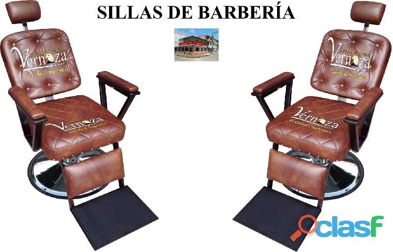 272 alegres silla de barberia, poltrona pedicure, recepcion.