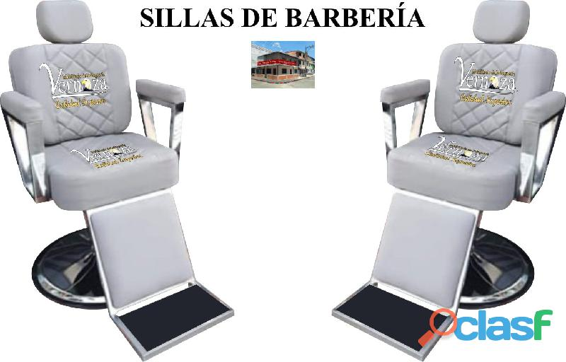 290 benevolos silla de barberia, poltrona pedicure, recepcion.