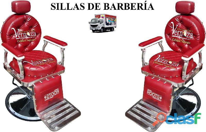 302 celebres silla de barberia, poltrona pedicure, recepcion.