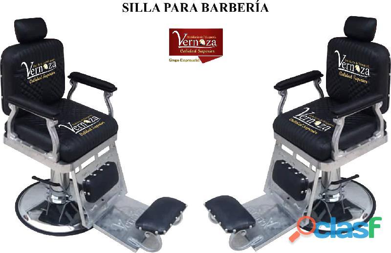 311 respaldados sillas de barberia, poltrona pedicure, recepcion.