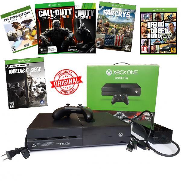 Xbox one 500gb 2 controles 74 juegos originales digitales