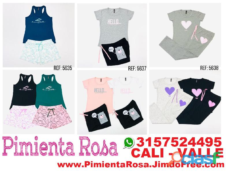 ⭐ PIJAMAS Para Mujer, Short, Capri, Pantalon, Batolas, Blusas, Tallas Desde S, M, L, XL, y Plus Size 1