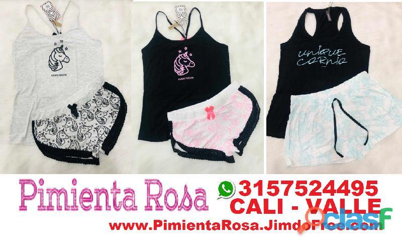 ⭐ PIJAMAS Para Mujer, Short, Capri, Pantalon, Batolas, Blusas, Tallas Desde S, M, L, XL, y Plus Size 5