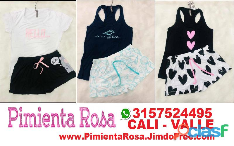 ⭐ PIJAMAS Para Mujer, Short, Capri, Pantalon, Batolas, Blusas, Tallas Desde S, M, L, XL, y Plus Size 9