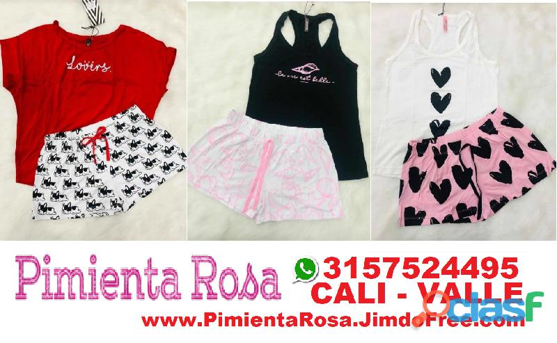 ⭐ PIJAMAS Para Mujer, Short, Capri, Pantalon, Batolas, Blusas, Tallas Desde S, M, L, XL, y Plus Size 11