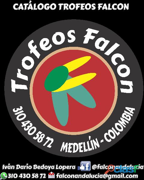Venta de Trofeos, Medallas y Placas Trofeos Falcon