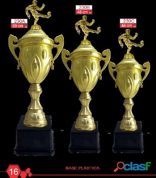 Venta de Trofeos, Medallas y Placas Trofeos Falcon 5