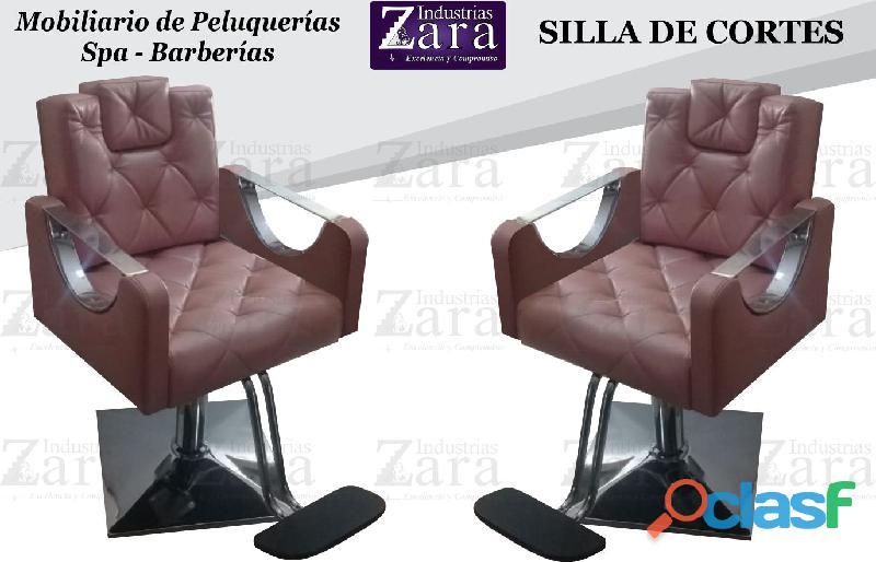 149 bellas silla de barberia, poltrona pedicure, recepcion.