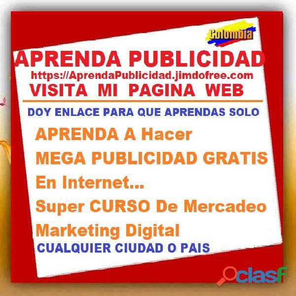 ⭐ APRENDA A Hacer MEGA PUBLICIDAD GRATIS En Internet, Super CURSO De Mercadeo, Marketing Digital, Pu