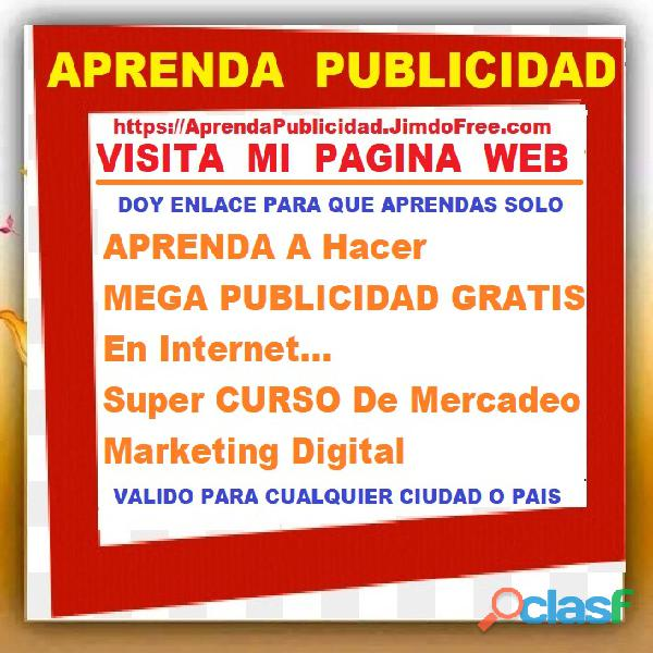 ⭐ APRENDA A Hacer MEGA PUBLICIDAD GRATIS En Internet, Super CURSO De Mercadeo, Marketing Digital, Pu 2