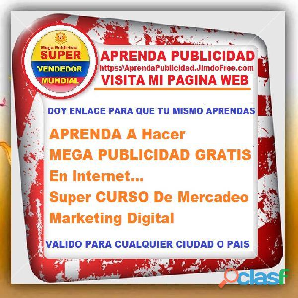 ⭐ APRENDA A Hacer MEGA PUBLICIDAD GRATIS En Internet, Super CURSO De Mercadeo, Marketing Digital, Pu 1