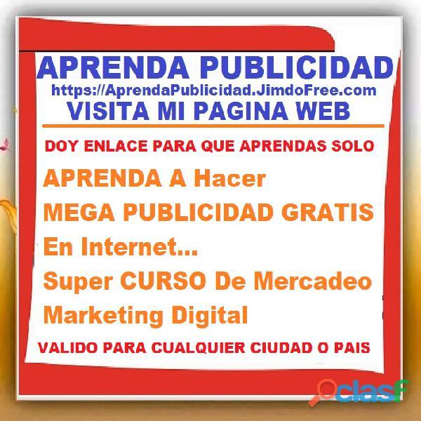 ⭐ APRENDA A Hacer MEGA PUBLICIDAD GRATIS En Internet, Super CURSO De Mercadeo, Marketing Digital, Pu 5