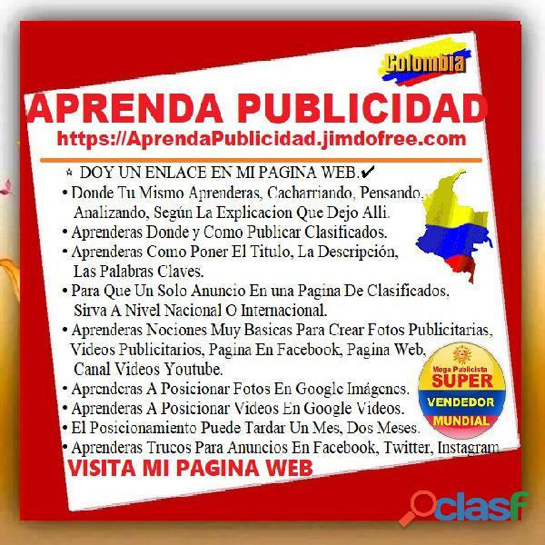 ⭐ APRENDA PUBLICIDAD, Curso De Mercadeo, Marketing Digital, On Line, Por Internet, En Linea, Publici