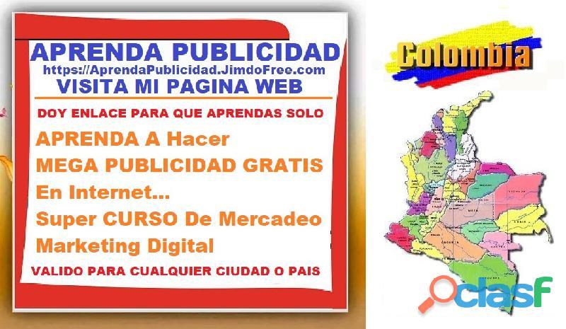 ⭐ gratis, curso, aprende a hacer mega publicidad gratis en internet, marketing digital, mercadeo,