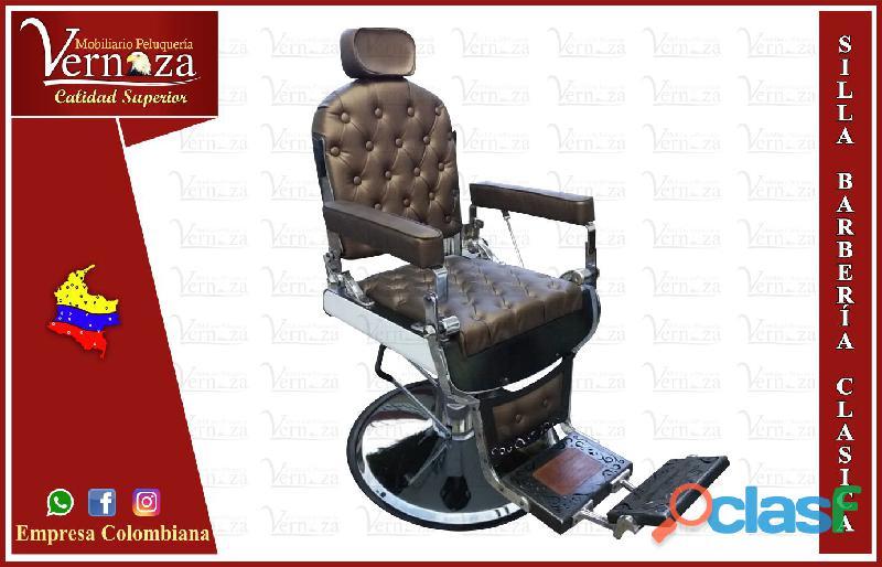 41 hermoso silla de barberia, poltrona pedicure, recepcion, tocador con luces, sala de espera