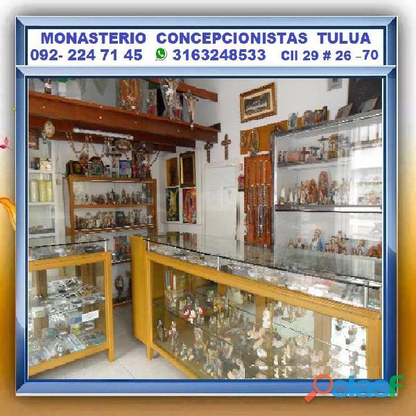 ⭐ articulos religiosos, novenas, velones, cirios, llaveros, iconos, hostiarios, etc. monjas conchita