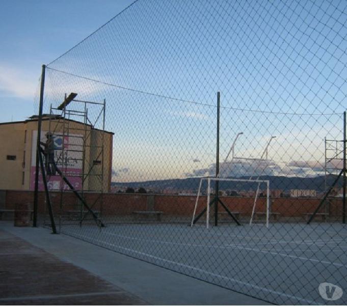 Fabrica mallas cerramiento canchas futbol – arcos -tenis