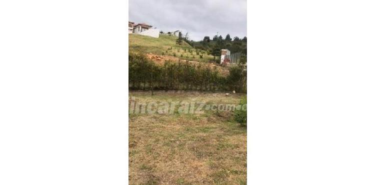 Lote en venta villa de leyva sabana alta