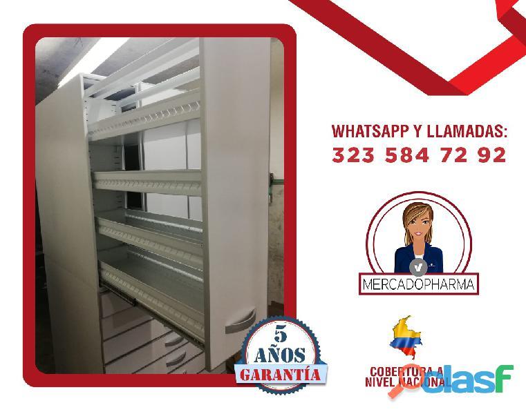 muebles para farmacias para guradado cartagena 2