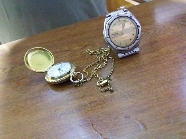 Reloj hombre y reloj de bolsillo