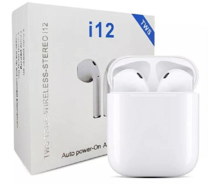 Audífonos Earpods Touch Inalámbricos Bluetooth i12