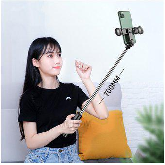 Trípode para celular selfie 4 en 1 con bluetooth luz 3