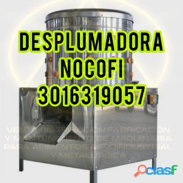 DESPLUMADORA POLLOS GALLINAS EN COLOMBIA