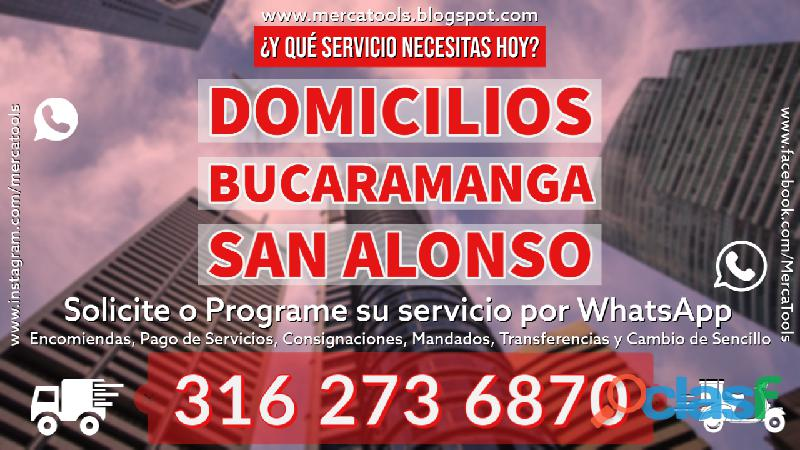 Domicilios Bucaramanga San Alonso