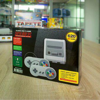 Mini consola de videojuegos retro de 620 juegos