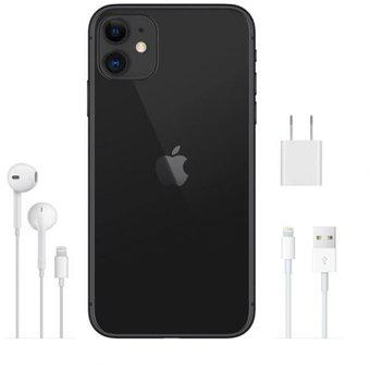 Smartphone apple iphone 11 128gb - negro con cargador y