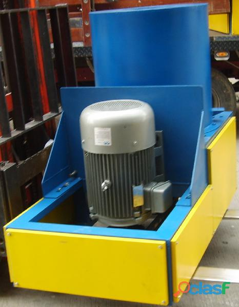 Fabricación de Maquinaria para Reciclaje de Llantas Usadas y Plásticos. 1
