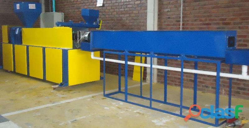 Fabricación de Maquinaria para Reciclaje de Llantas Usadas y Plásticos. 4